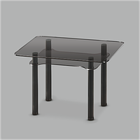 Стеклянный обеденный стол Тetra G-G