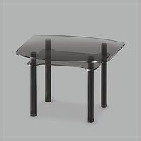 Стеклянный обеденный стол Rondo G-G BL