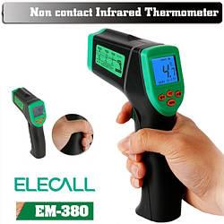 Профессиональный пирометр Elecall EM-380
