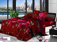 Евро комплект постельного белья DREAM-DREAM МИКРОСАТИН S 03
