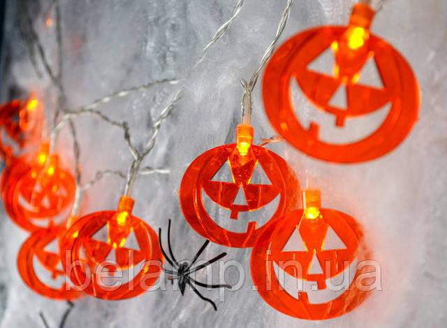 гирлянда из тыкв на хэллоуин купить украина
