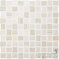 Плитка для ванной Fap Плитка керамическая мозаика FAP DESERT CHECK WHITE MOSAICO fKIK