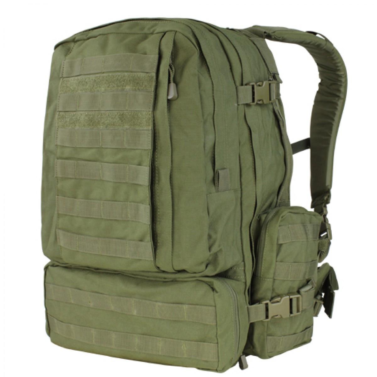 Назначение рюкзака 3-day assault рюкзак с натяжной сеткой