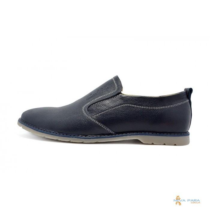 Мокасины кожа Cuddos 79 Blue - Интернет-магазин обуви