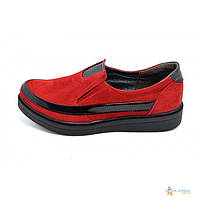 Слипоны Paolo Frshion Collection T-119 Red Black