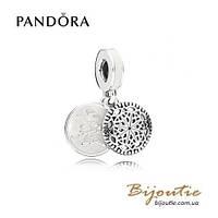 Pandora Шарм-подвеска ЙОГА #796205EN23 серебро 925 Пандора оригинал