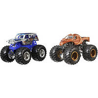 Hot Wheels Monster Jam Demolition Doubles. Машинки хот вил Son-Uva Digger® vs Zombie Hunter Vehicles