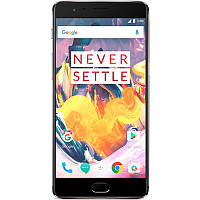 "Смартфон OnePlus 3T, 6GB+64GB 5.5"" Серый AMOLED Snapdragon 821 3400 mAh Sony IMX298 Exmor RS камеры 16+16 Мп"