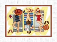 Набор для вышивки крестом Отдых у моря