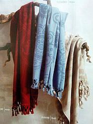 Бежевое пляжное полотенце Tivolyo Home 90х180
