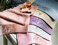 Набор махровых полотенец Tivolyo Home Bamboo exclusive 100х150