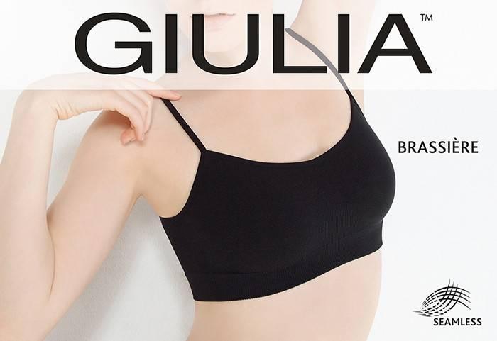 Топ Giulia BRASSIERE NERO (черный), L/XL
