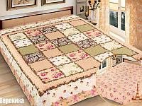 Покрывало на кровать в спальню Love You одеяло двусторонее Вероника 230х250