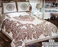 Красивое покрывало на кровать Nazsu Diamond евро