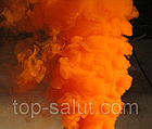 Цветная ручная дымовая шашка ORANGE SMOKE, время: 60 секунд, цвет дыма: оранжевый, фото 3