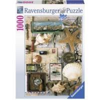 Пазл Морские сувениры, 1000 элементов, Ravensburger (RSV-194797)