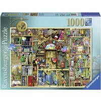 Пазл Причудливый книжный магазин, 1000 элементов, Ravensburger (RSV-194186)
