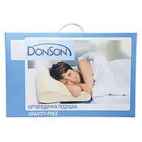 Ортопедическая подушка DonSon Gravitty-Free (Белый)