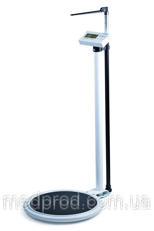Весы с ростомером электронные колонные Момерт Momert модель 5962 вес до 200кг, рост до 2м