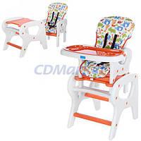 Bambi Детский стульчик-трансформер для кормления Bambi M 0816-16