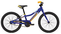 "Велосипед 20"" Cannondale boys SS синий с оранжевым"