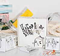 Шоколадный мини-набор ДЕПРЕССИВНОЙ ДУРЫ 12 шоколадок