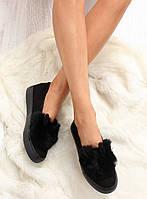 Черные женские слипоны nb50 39