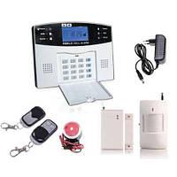 GSM сигнализация Качественная (РУССКОЕ МЕНЮ) охрана квартиры/дачи/гаража