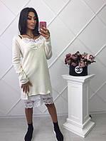 Женский костюм: туника и платье (2 цвета)