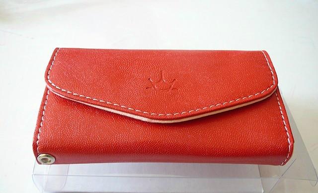 Чехол-сумочка для iPhone - Красная - Ardium Smart Fold Pouch