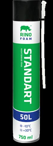 Пена монтажная RINO  STANDART  50 L RF-750