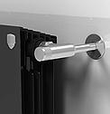 Кран вентильний ручной регулировки угловой, PIANO (хром), фото 2