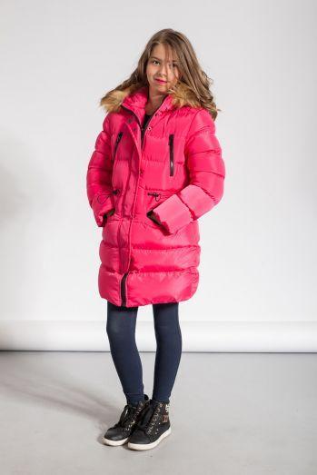 Зимняя куртка для девочки Glo-Story GMA-4437