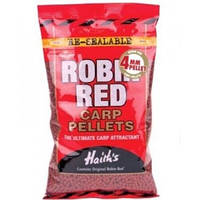 Прикормочный пеллетс 4мм. 900гр. Robin Red Carp Pellets (NOT-Drilled)