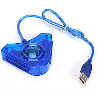 USB переходник  для джойстиков PS1 PS2 PSX юсб адаптер