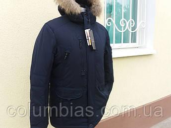 Зимняя мужская куртка на верблюжей шерсти