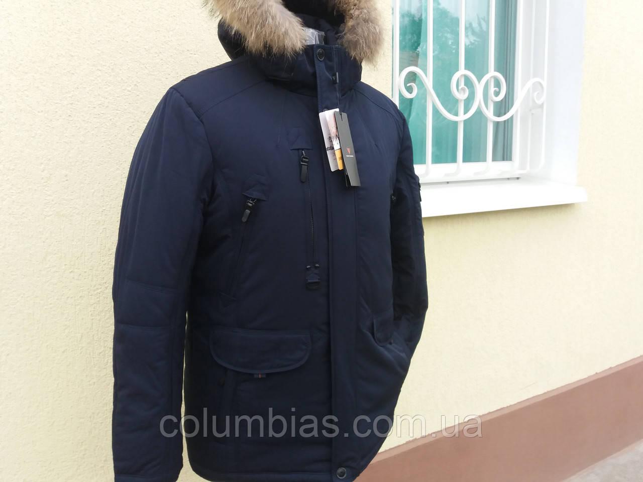 Зимова чоловіча куртка на верблюжої вовни