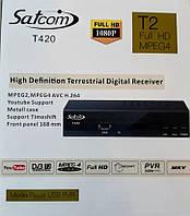 Цифровой эфирный тюнер Satcom T420 HD IPTV