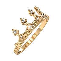 Кольцо «Французская Корона » от СТОЛИЧНОЙ Ювелирной Фабрики со вставками цирконов