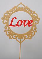 Украшение для торта LOVE