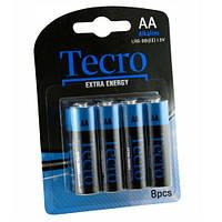 Батарейка TECRO AA LR6-8B ExtraEnergy (бл 8 шт.)