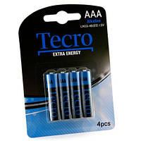 Батарейка TECRO AAA LR03-4B ExtraEnergy (бл 4 шт.)