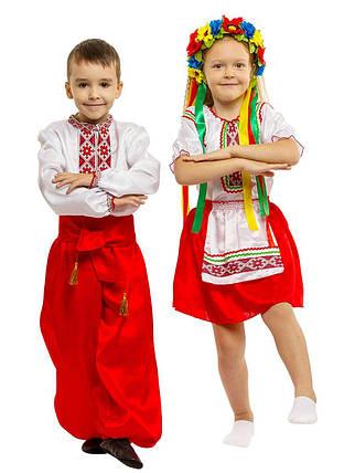 """Детский карнавальный костюм """"Украинка №1"""" для девочки, фото 2"""