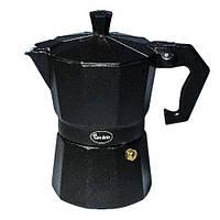 Кофеварка гейзерная Con Brio CB-6403 (3 чаш,150мл)