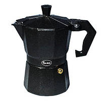 Кофеварка гейзерная Con Brio CB-6406 (6 чаш,300мл)