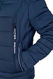 Чоловіча зимова куртка, синього кольору., фото 3
