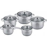 Набор посуды MAXMARK MK-3510 (10 пр.)
