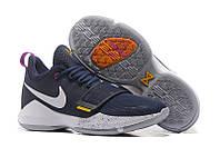 Баскетбольные кроссовки Nike Zoom PG1 синие