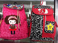 Женский рюкзак  с клапаном на затяжке хорошего качества по низкой цене