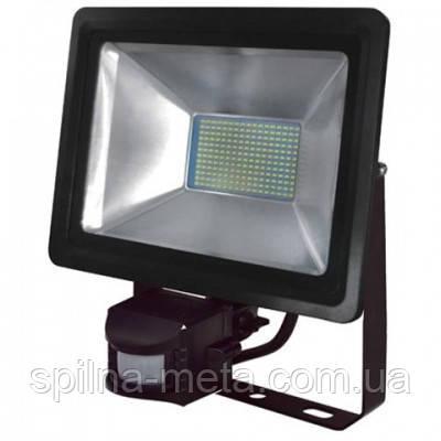 """Прожектор светодиодный с датчиком """"PUMA/S-100"""" 100W/6400K/5000Lm"""